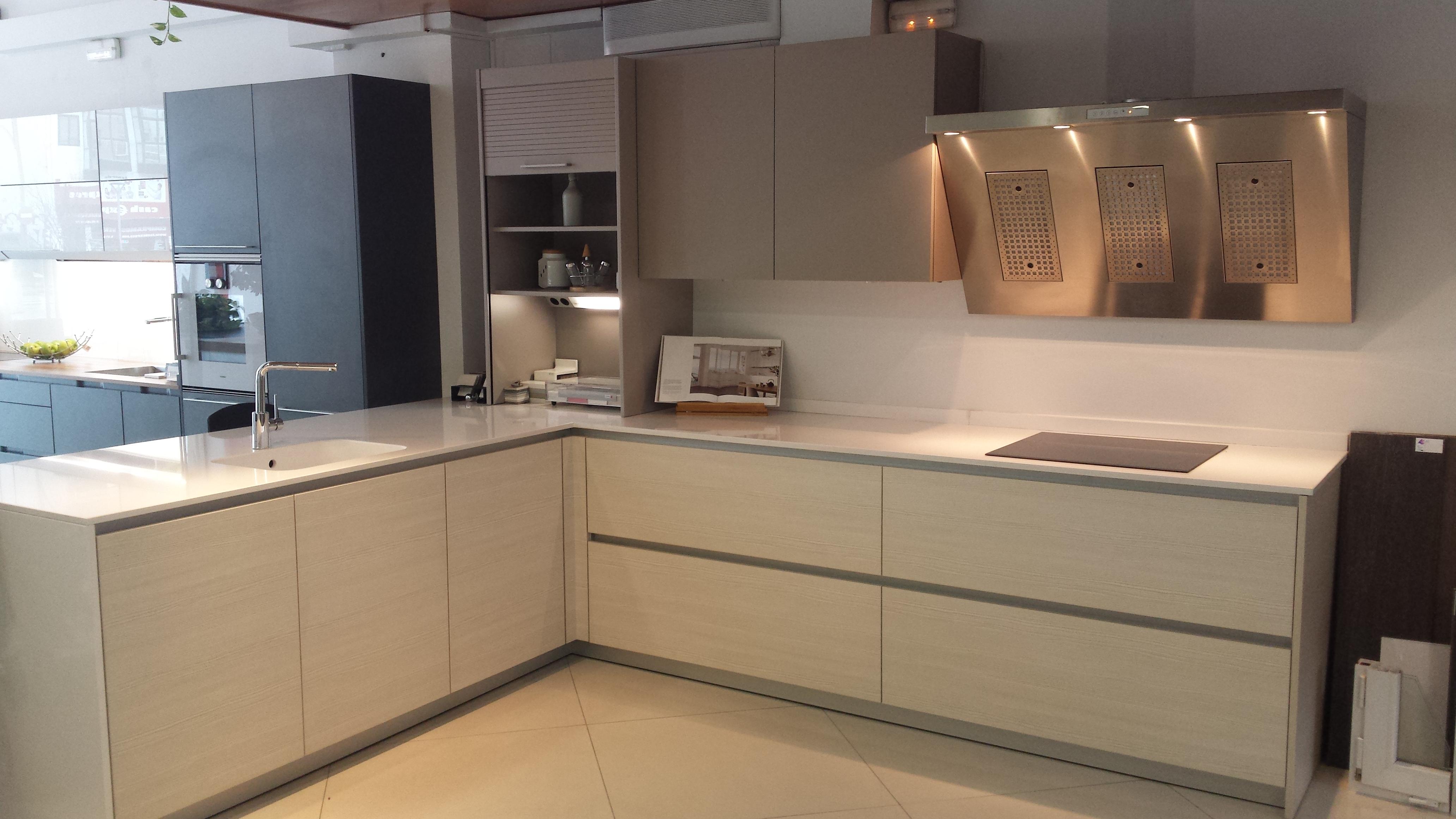 COCINA EXPOSICION LINE - Santos muebles de cocina